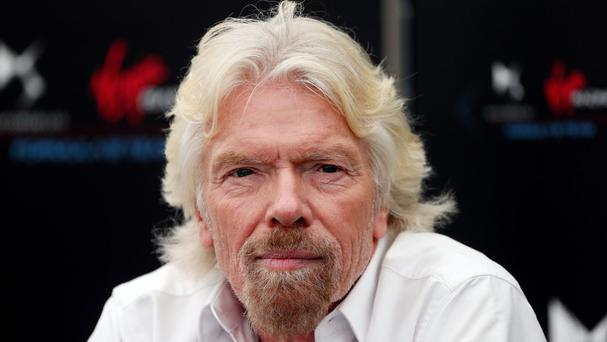 Sir Richard Branson asked for people's help to end the 'inhumanity and injustice' of Europe's refugee crisis