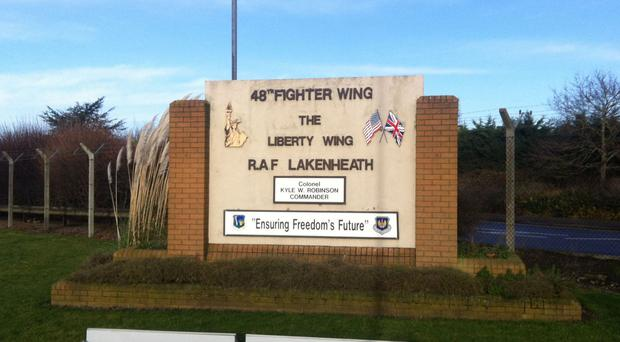 Michael Fallon allowed the use of RAF Lakenheath for the US air raid on a Daesh camp in Libya