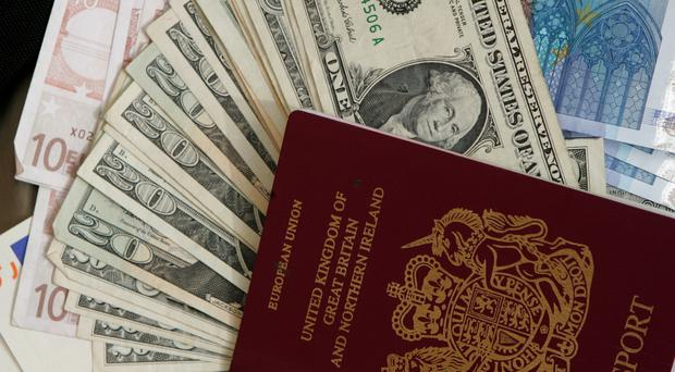 Currencies for many popular long-haul destinations have weakened in comparison with the pound