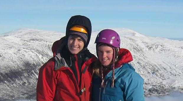 Tim Newton and Rachel Slater have been missing on Ben Nevis for a week (Police Scotland/PA)