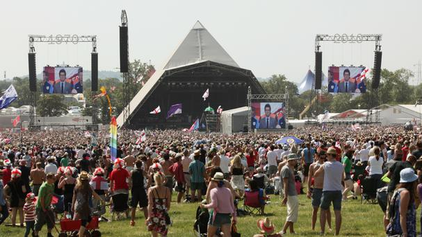 Glastonbury festival-goers have been urged to get organised, lest they run the risk of missing the EU vote