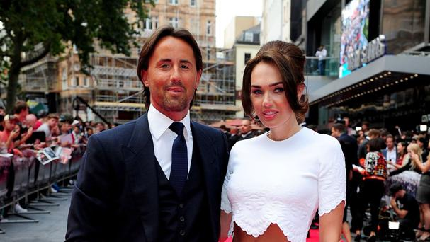Jay Rutland and Tamara Ecclestone pictured at the premiere of The Expendables 3 in London