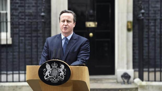 David Cameron announces the date of the EU referendum in Downing Street