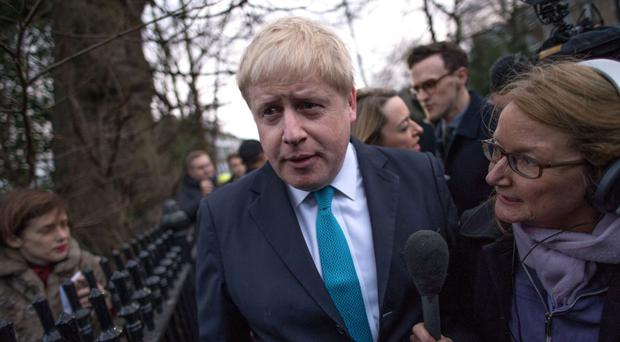 Boris Johnson brushed off suggestions that he was positioning himself for a tilt at the Tory leadership, but there are plenty who were not convinced