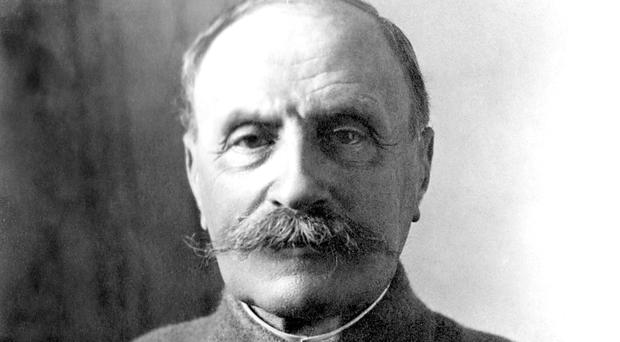 Marshal Ferdinand Foch is honoured with a statue to remember the battle of Verdun