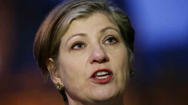 Emily Thornberry backed a future defence policy increasingly based on capabilities dubbed 'geeks, spooks and thugs' - cyber experts, spies and special forces
