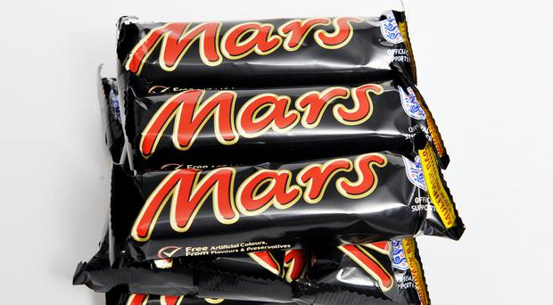 Mars is recalling some of its products after a piece of plastic was discovered in a bar