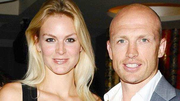 Matt Dawson and his wife, Carolin, whose son Sam had life-saving treatment at London's Great Ormond Street Hospital