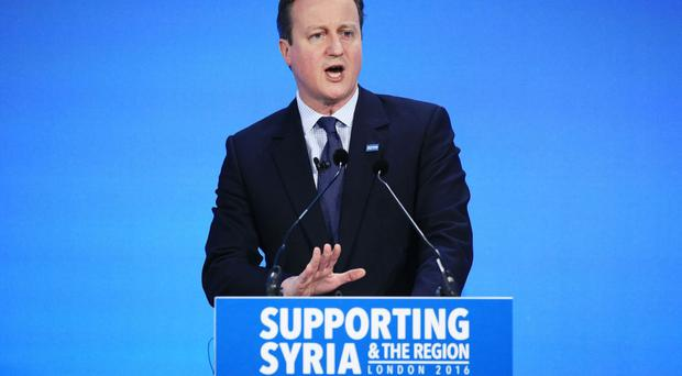 Prime Minister David Cameron spoke to US president Barack Obama about a planned ceasefire in Syria