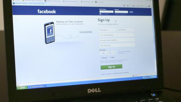 The man admitted hacking into his ex-girlfriend's Facebook account to post semi-naked images of her.