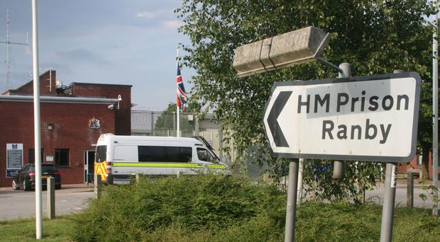 HMP Ranby is a large category C prison holding just over 1,000 men