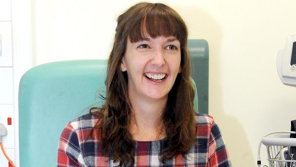 Pauline Cafferkey has been admitted to hospital for the third time since contracting Ebola