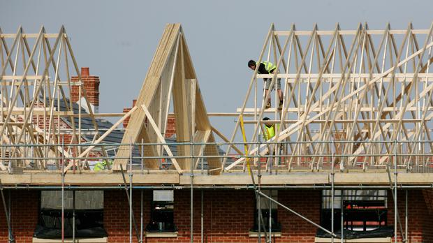 Britain's economy grew by 0.5% in the final quarter of last year despite the fall in construction
