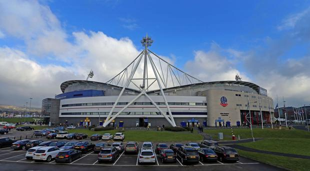 The Macron Stadium, home of Bolton Wanderers