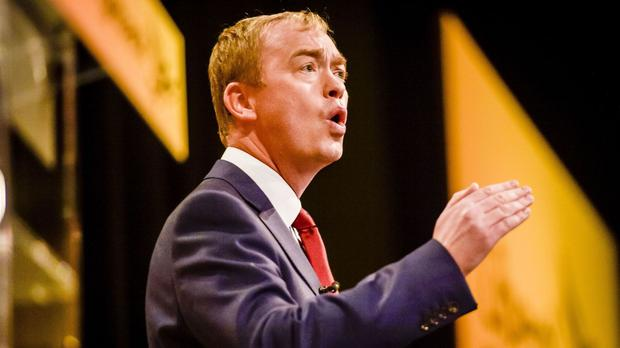 Lib Dem leader Tim Farron will seek to step up his attacks on those who wish to remove Britain from the EU