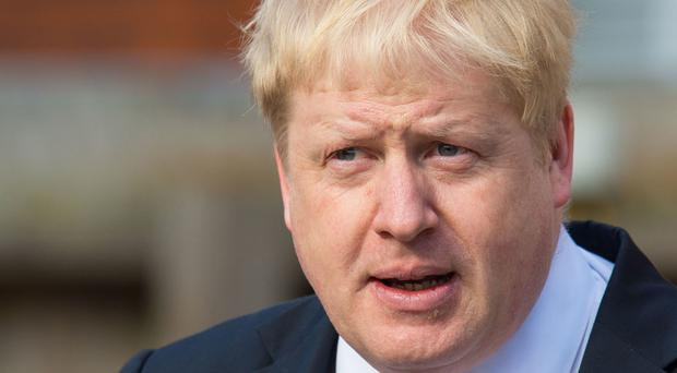 London mayor Boris Johnson said Whitehall had made' a series of questionable assertions' about a Brexit impact