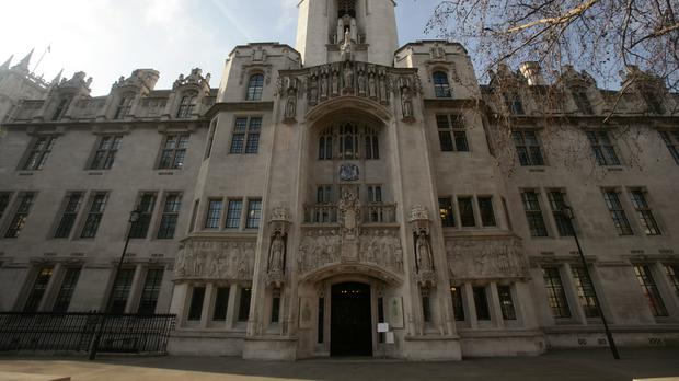 The Supreme Court in Westminster, central London