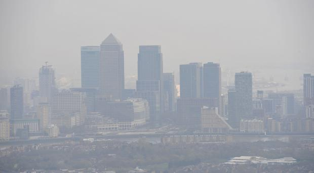 London is not expected to meet legal air pollution levels until 2025
