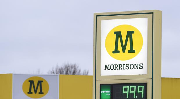 A man who was assaulted by a Morrisons' employee on one of the store's petrol forecourts took the supermarket to court