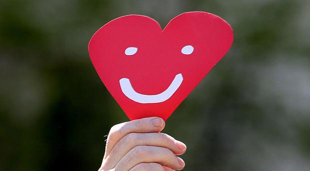 Hearts can be broken by happy events as well as those causing grief and sadness, a study has found