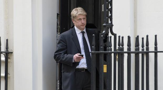 Jo Johnson is delivering a speech at Cambridge University