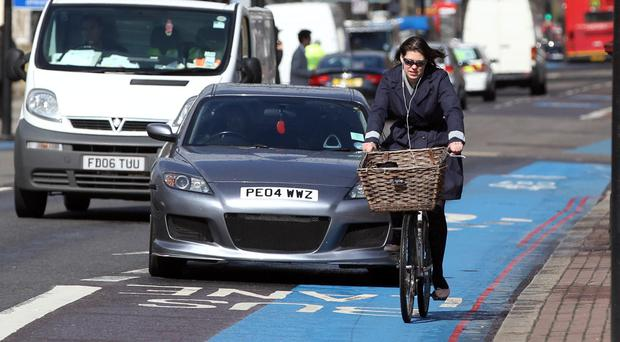 Some 71.4% of commuters supported building segregated cycle tracks if it meant adding a minute to their own journey times