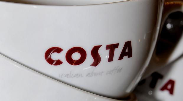 Like-for like sales at Costa slowed sharply to 0.5% in the 11 weeks to February 11