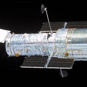 The Hubble Space Telescope was used by astronomers