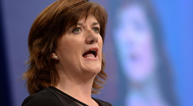 Education Secretary Nicky Morgan said teacher recruitment is a challenge