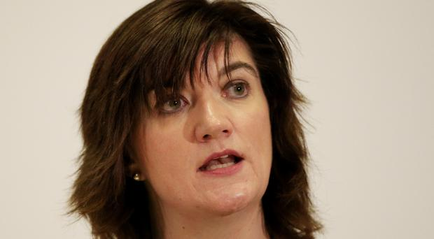 The Department for Education is headed by equalities minister Nicky Morgan