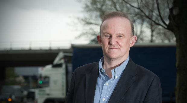 Ian Baxter, chairman of Baxter Freight, who backs Britain remaining part of the European Union