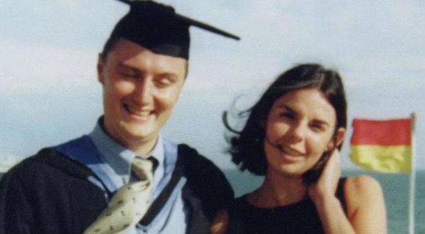 Peter Falconio with his girlfriend Joanne Lees