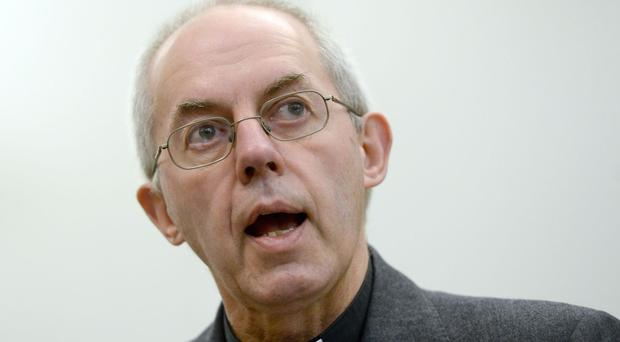 The Most Rev Justin Welby said it was