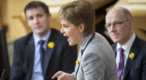 Nicola Sturgeon said it 'would be wrong at this time to raise taxes on the lower-paid'