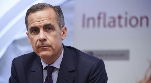 Bank of England Governor Mark Carney expects interest rates to rise at some point in the next two years