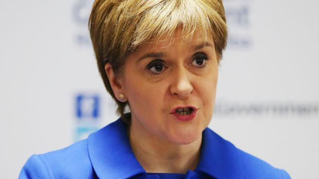 Nicola Sturgeon has warned a Brexit vote could trigger a second referendum on independence