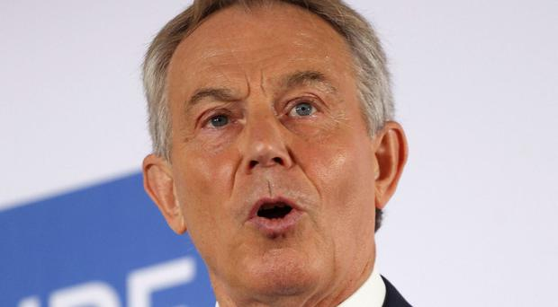 Tony Blair said major interests stand in the way of education reform