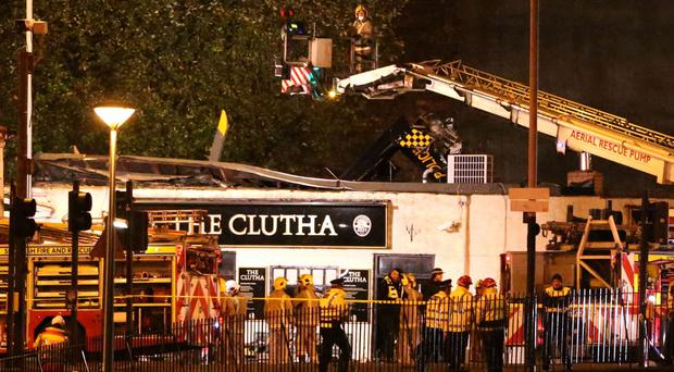 Ten people died after a helicopter crashed through the roof of The Clutha in November 2013