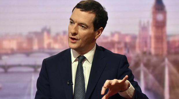 George Osborne says he needs to find savings equivalent to 50p in every £100 the Government spends by 2020