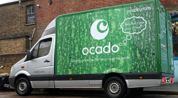 Ocado delivered another double-digit hike in sales as it notched up 250,000 orders in a week for the first time