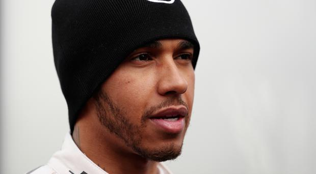 Lewis Hamilton is understood to have posted two videos on Snapchat that appear to show him riding a motorbike in Auckland