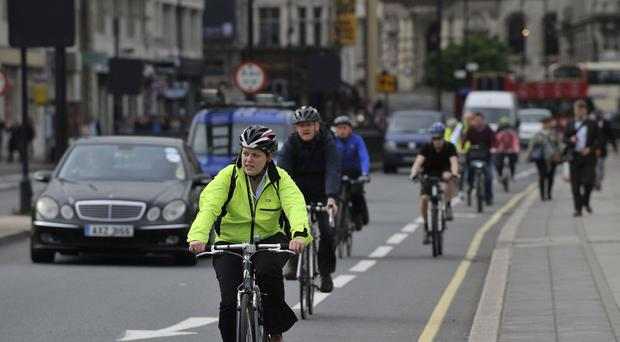 Commuters who walk, cycle, or use public transport have less body fat and a lower BMI than motorists, the study found.