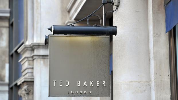 Ted Baker said underlying pre-tax profits rose by 18.6% in the year to January 30
