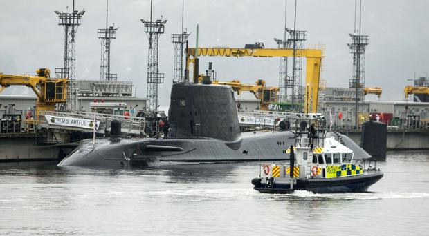 HMS Artful is due to be commissioned into the Royal Navy fleet