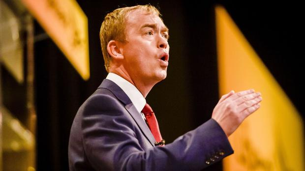 Tim Farron said changes to the funding of public sector pensions set out in the Budget were a 'vicious attack' on already-stretched services