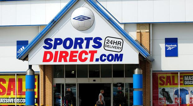 The Sports Direct group runs around 400 stores across the UK
