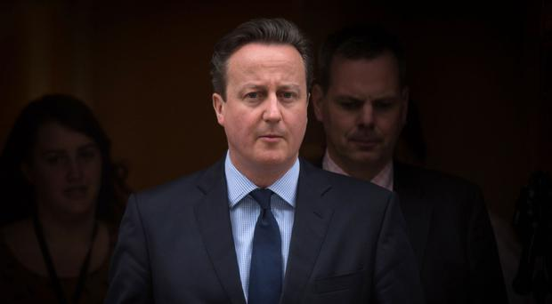 Prime Minister David Cameron admitted it had been a tough week