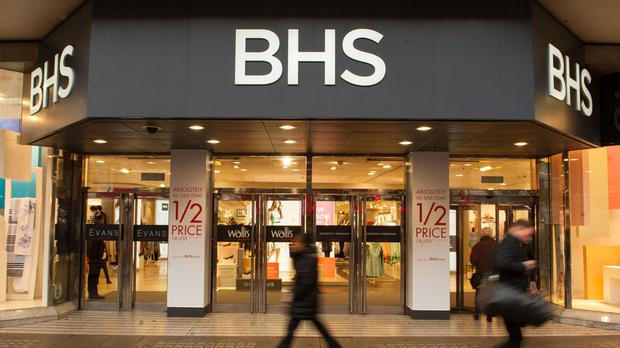 Retailer BHS has four stores in Northern Ireland
