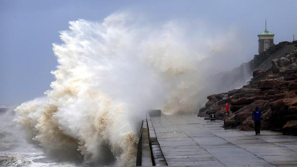 Storm Kate expected to batter the UK this Easter weekend