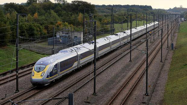 A Eurostar spokeswoman said an earlier power failure had caused two train cancellations - one from Paris and one from London.